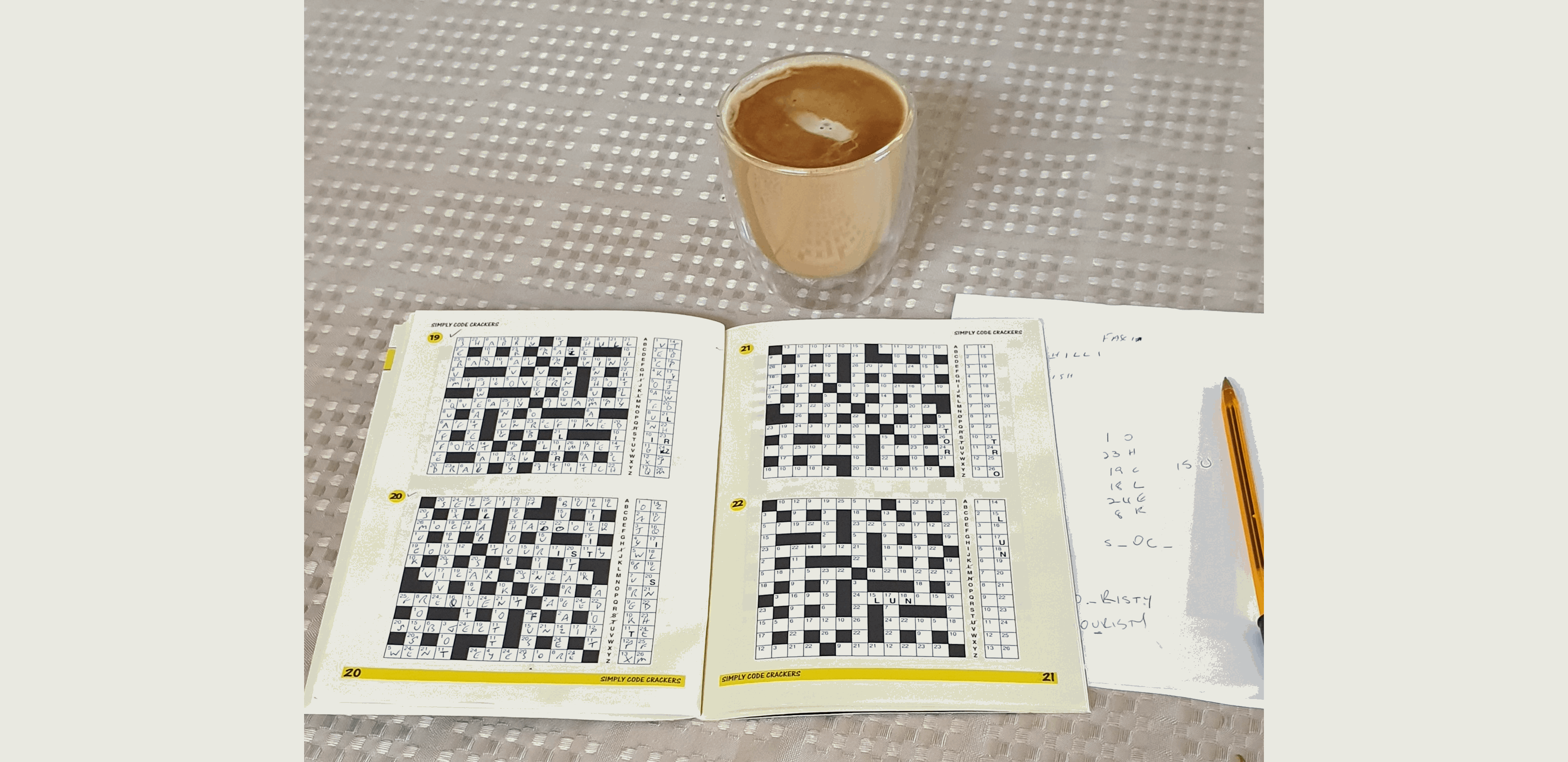 coffee and codecracker - a great combo